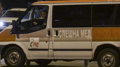 Микробус блъсна протестиращи край Благоевград
