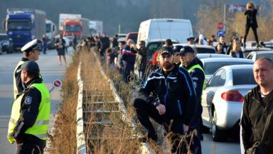 Не сме използвали сила при протестите, заявиха от полицията