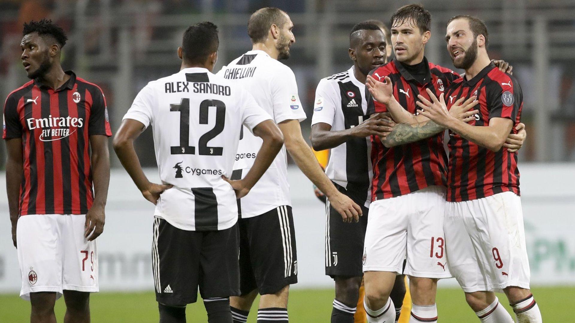 Игуаин помогна на Ювентус за успех над Милан