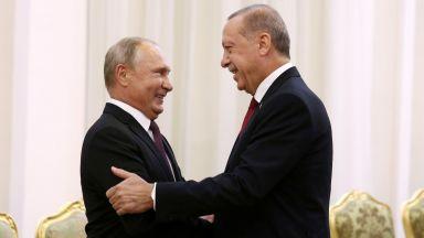 """Путин в Истанбул за завършването на """"Турски поток"""""""