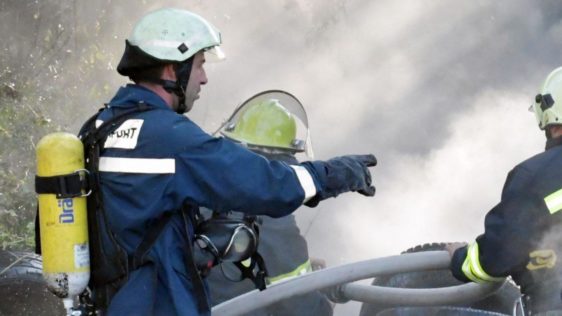 Работник подпали бивш завод за метални конструкции