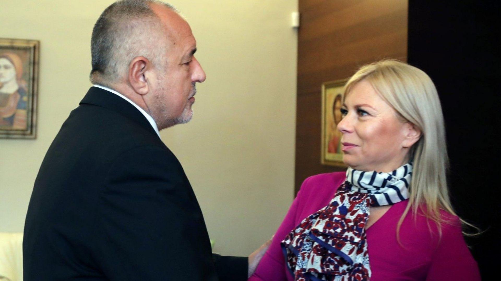 Борисов и Биенковска обсъдиха транспортната и дигиталната свързаност в Европа и Западните Балкани