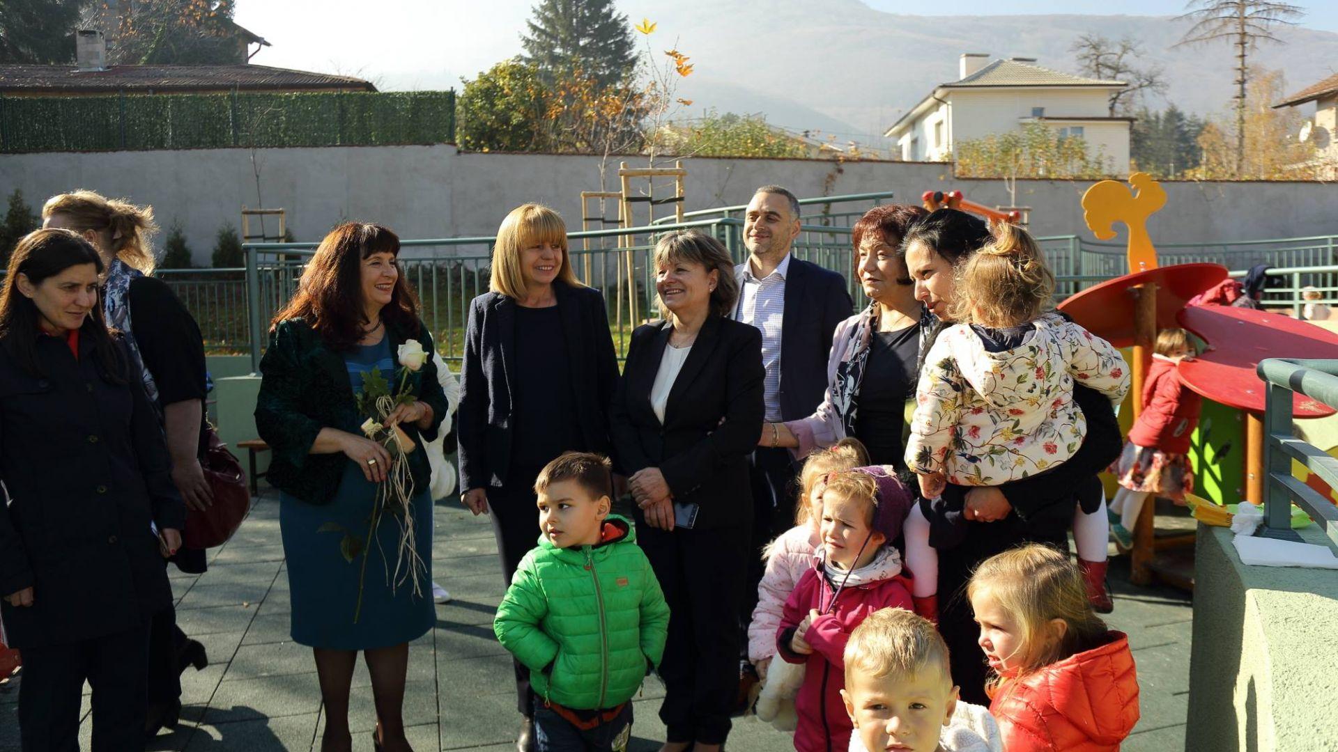 Общо 10 нови сгради на детски градини и цялостна модернизация