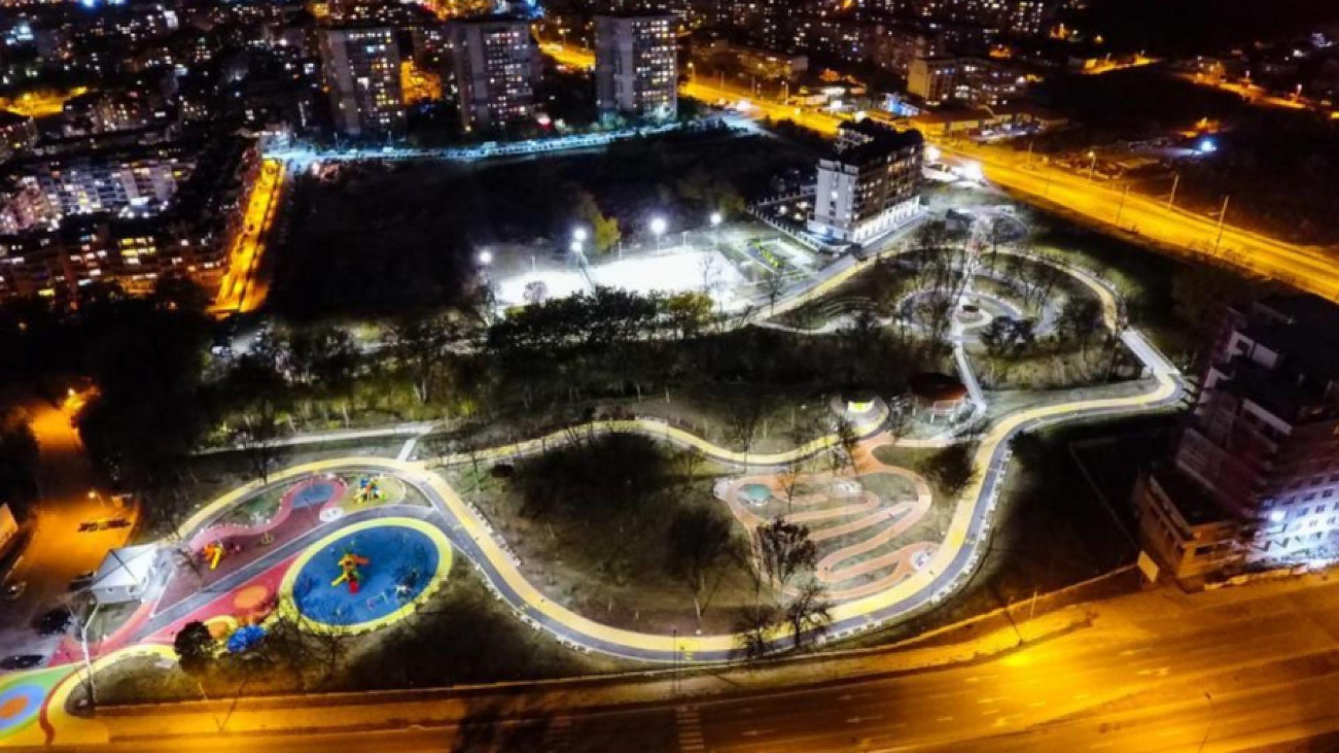 Готов е новият парк във Варна (СНИМКИ и ВИДЕО)