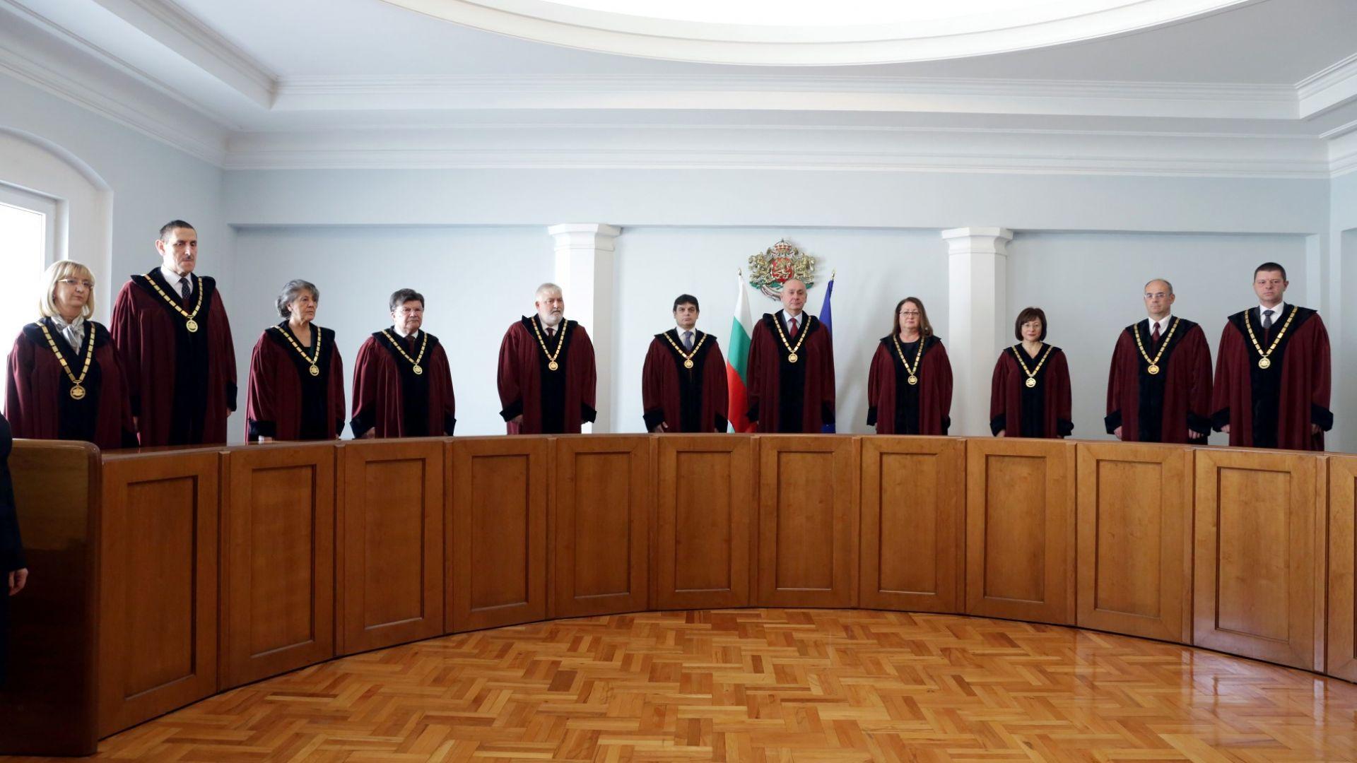 Новите конституционни съдии се заклеха