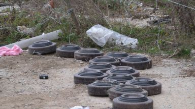 Откриха противотанкови мини край Разград