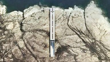 Параклис в скала над бурното море - идеалното място да се поразсъждава за вечността
