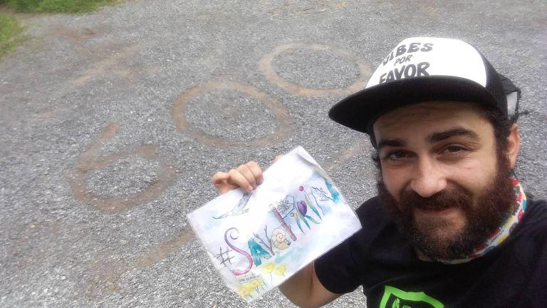 Русенец извървя 3500-километрова пътека в САЩ с един чифт обувки