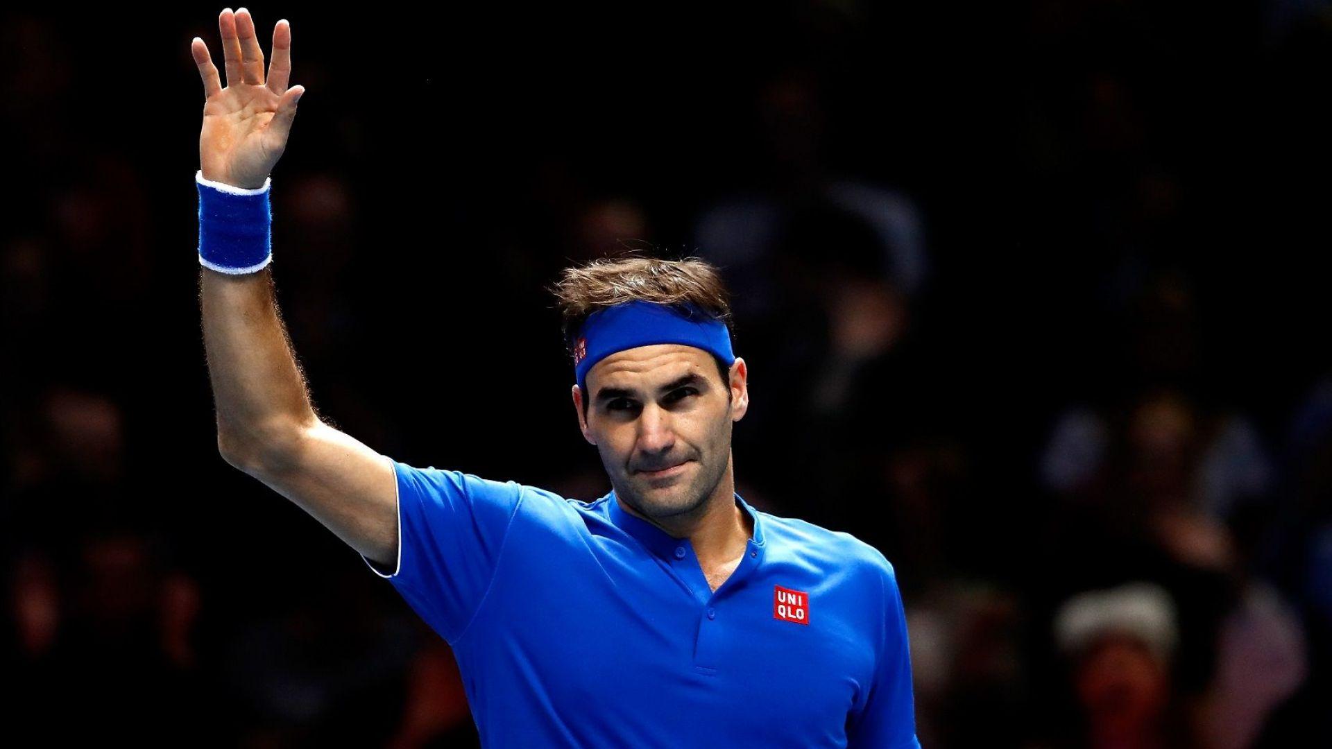 Федерер се разправи с австриец в Лондон