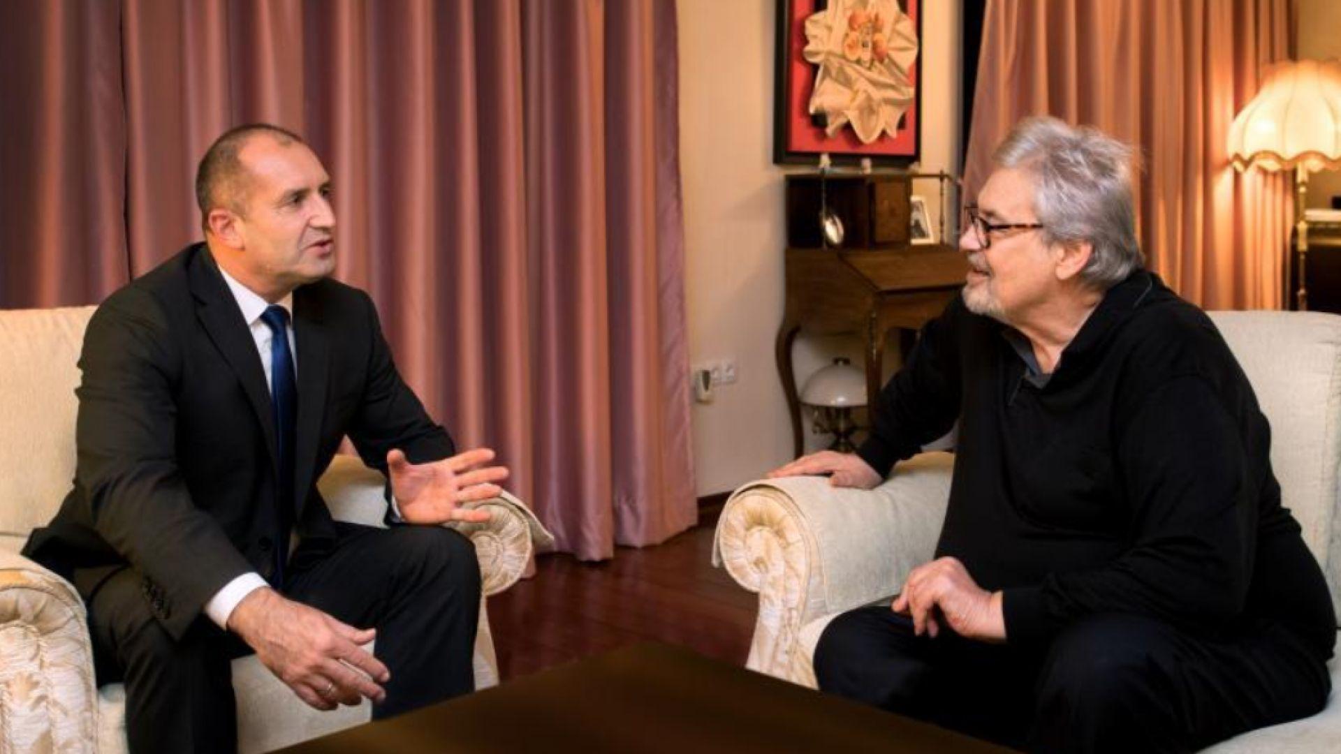 Президентът се срещна със Стефан Данаилов