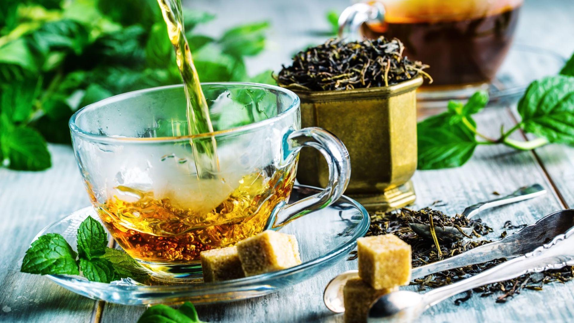 Oбикновеният черен чай удължава живота