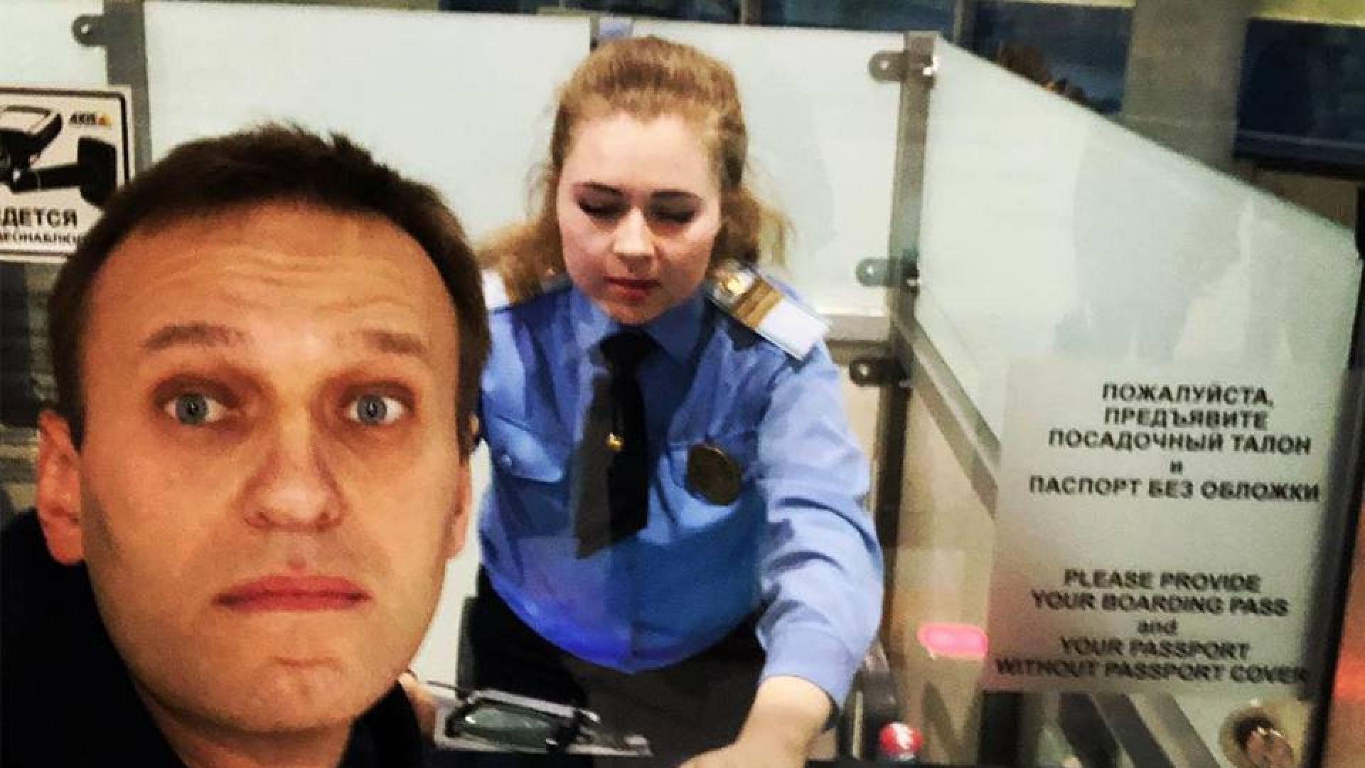 Опозиционерът Алексей Навални получи разрешение да напусне Русия днес, за