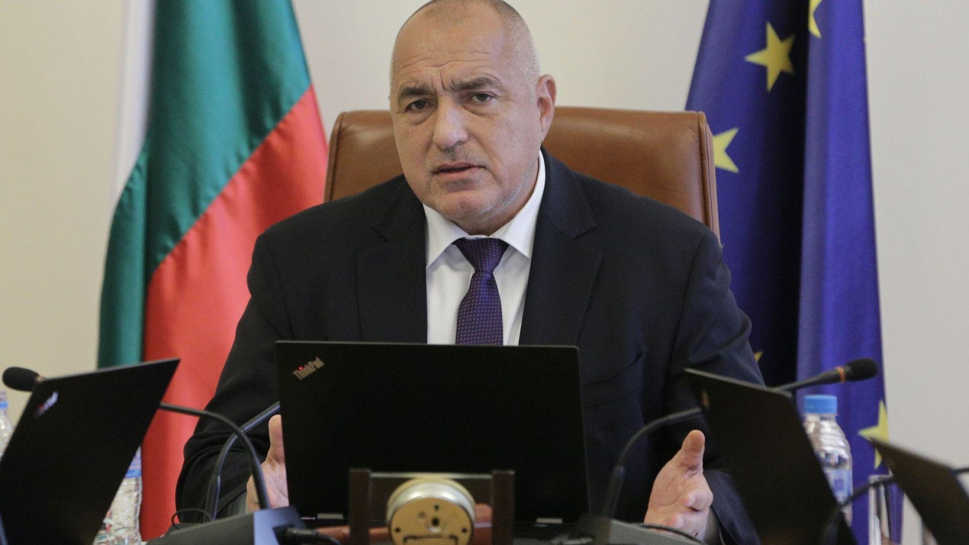 Премиерът Бойко Борисов обяви, че иска да има дебат по