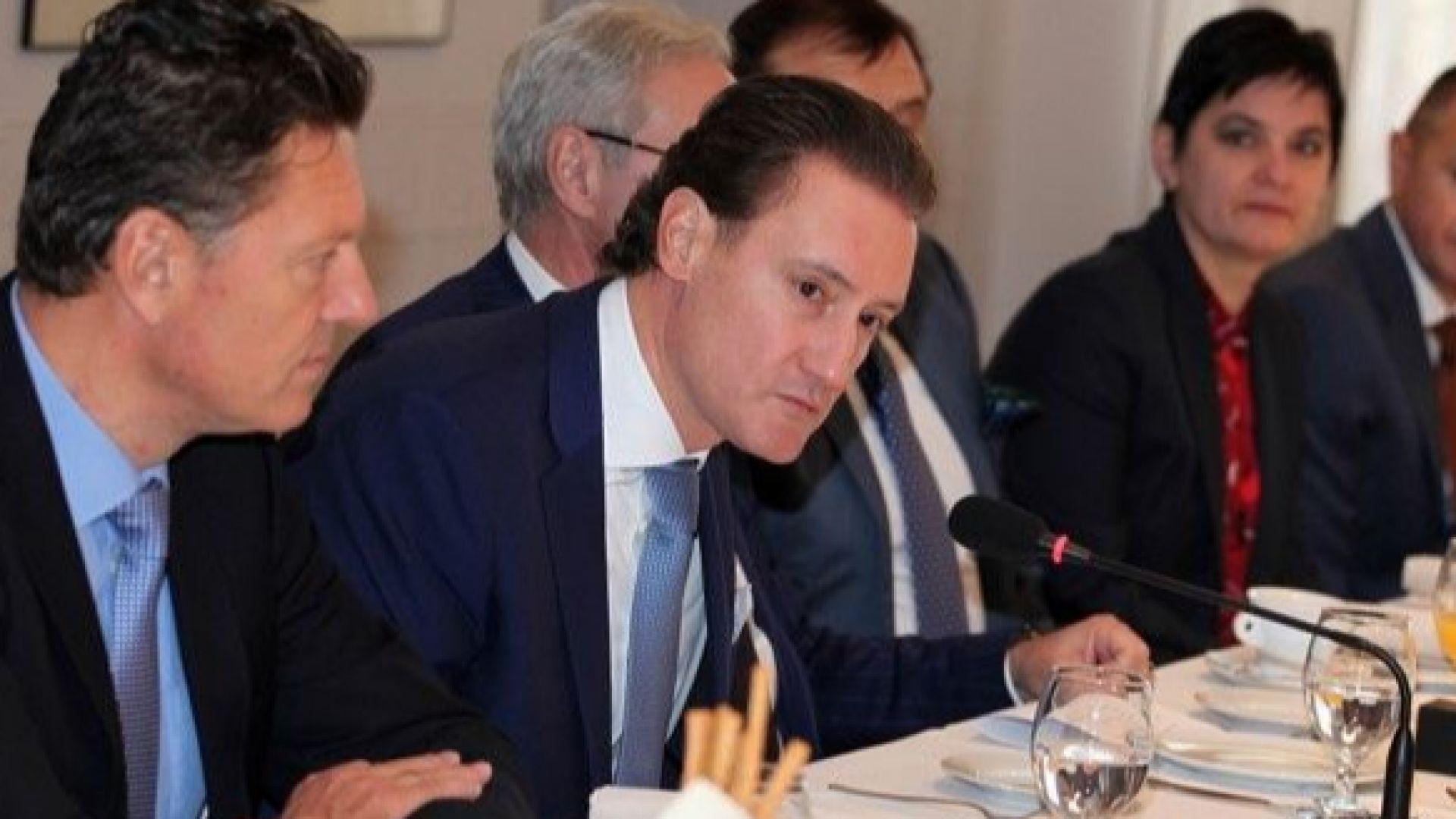 КРИБ се срещна с посланици и дипломати в България на страните от ЕС