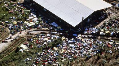 """Култът на смъртта: 913 души се самоубиват в """"Народния храм"""" (снимки)"""