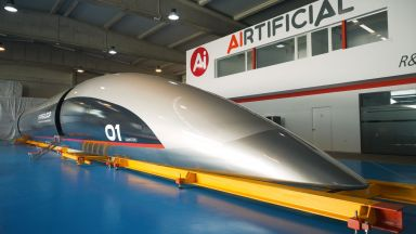 Geely ще прави китайски Hyperloop