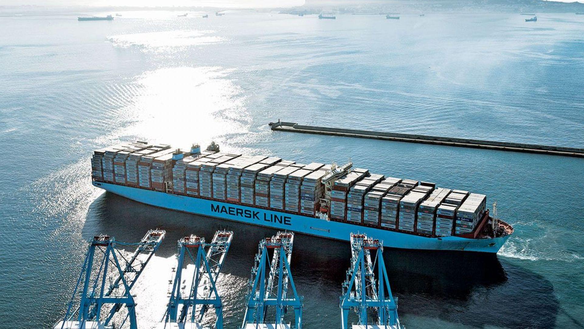 Датският конгломерат Мерск отново е на печалба