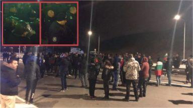 Подкрепи ли полицията протеста в Перник или приложи тактически ход? (видео)