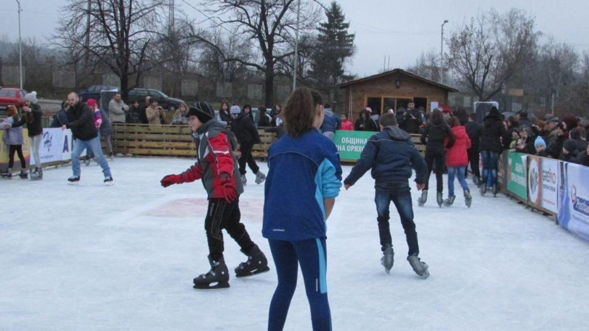 На 20 ноември, вторник ще бъде открита официално ледената пързалка