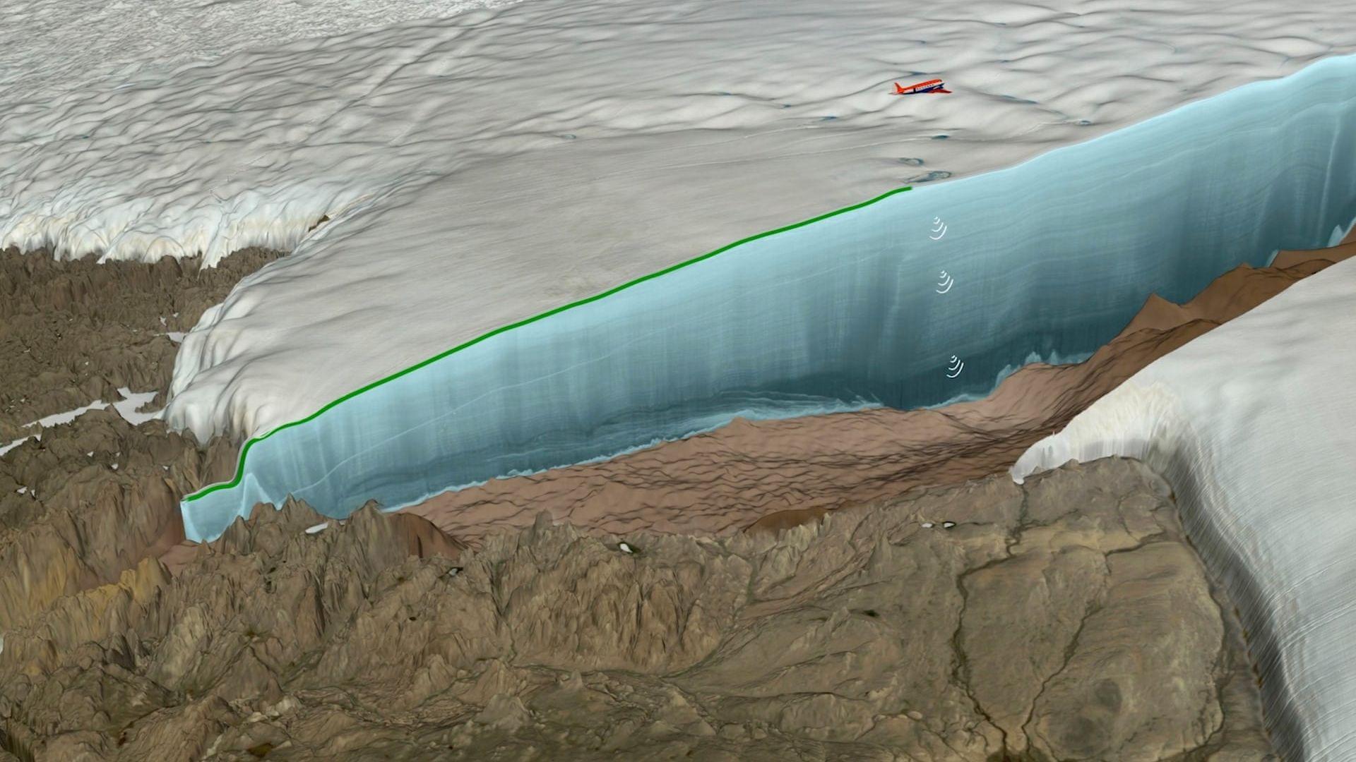 Откриха в Гренландия 31-километров кратер на 12 000 г.
