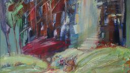 Вече видяни пространства в картините на Дафина Моллова