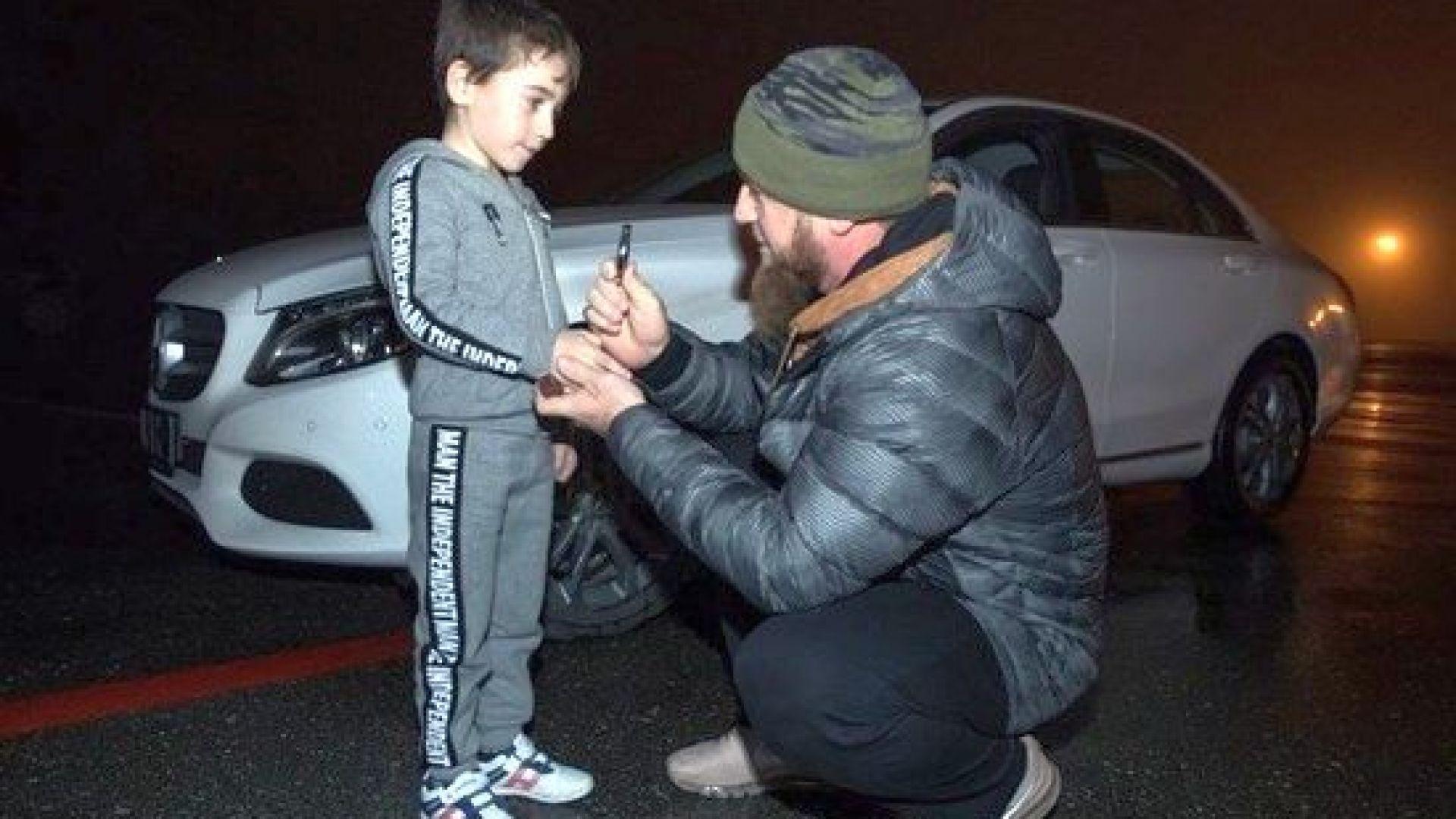 Чеченският президент Рамзан Кадиров подари бял