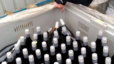 Митничари иззеха 30 хил. литра вино без акциз