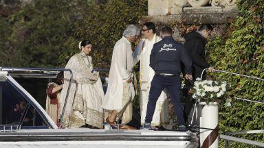 Пищна боливудска сватба в Италия (снимки)