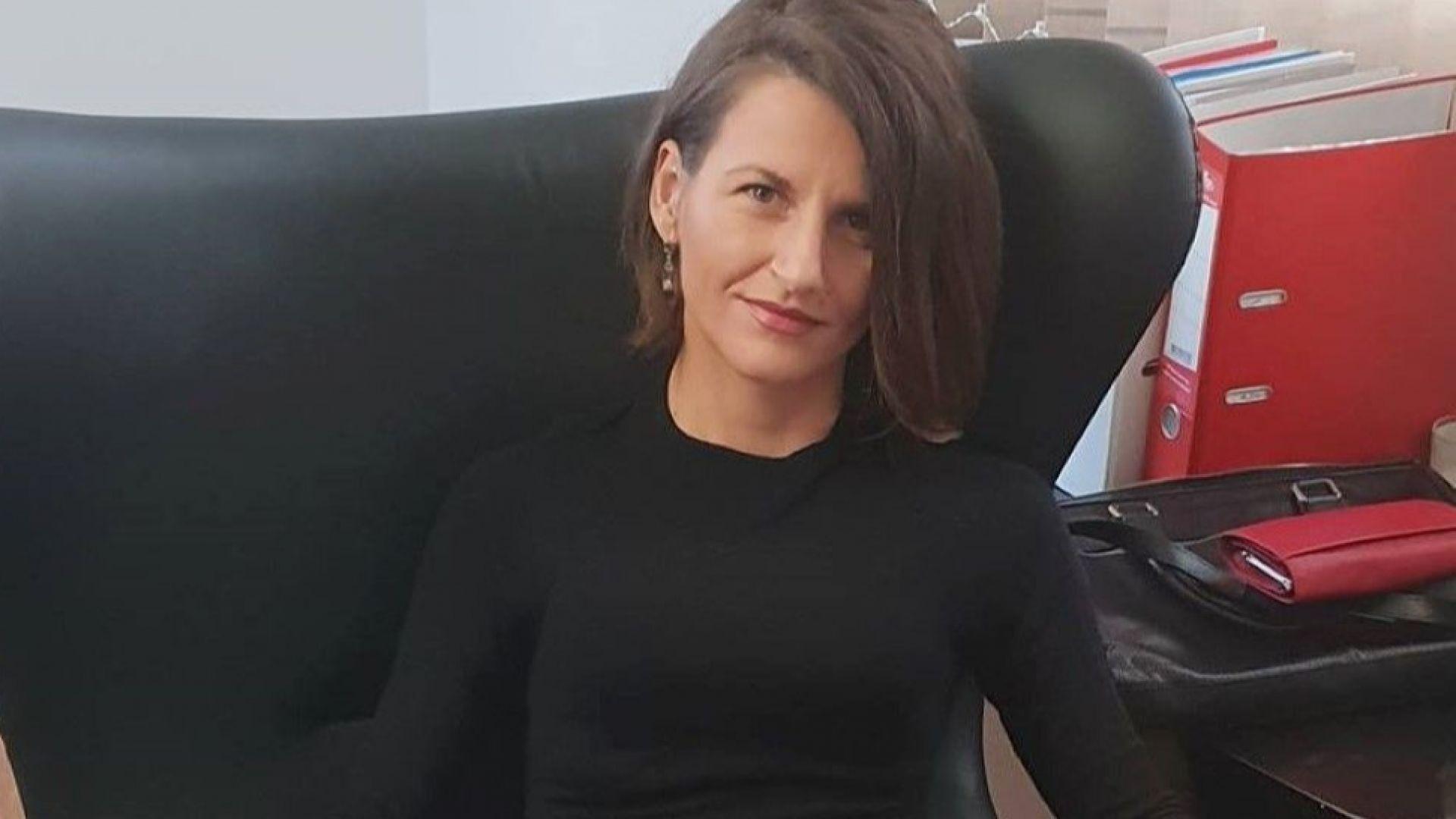 Столичната адвокатка Валентина Каменарска, която неотдавна беше нападната в кантората