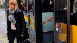 Фандъкова отиде на работа с тролей в Деня за по-чист въздух