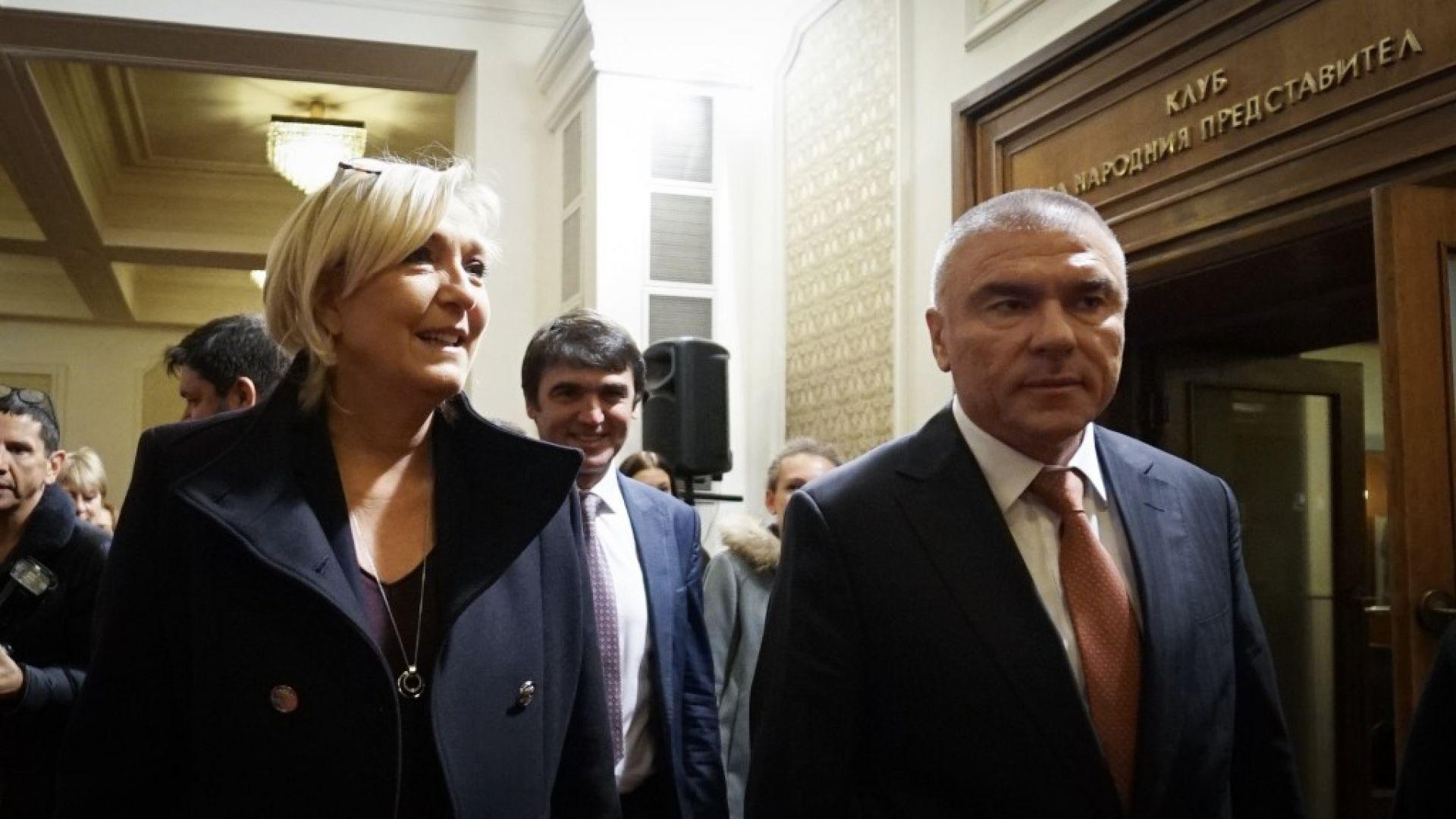 Марин Льо Пен в България: Ще преминем към исторически времена с края на дивата глобализация