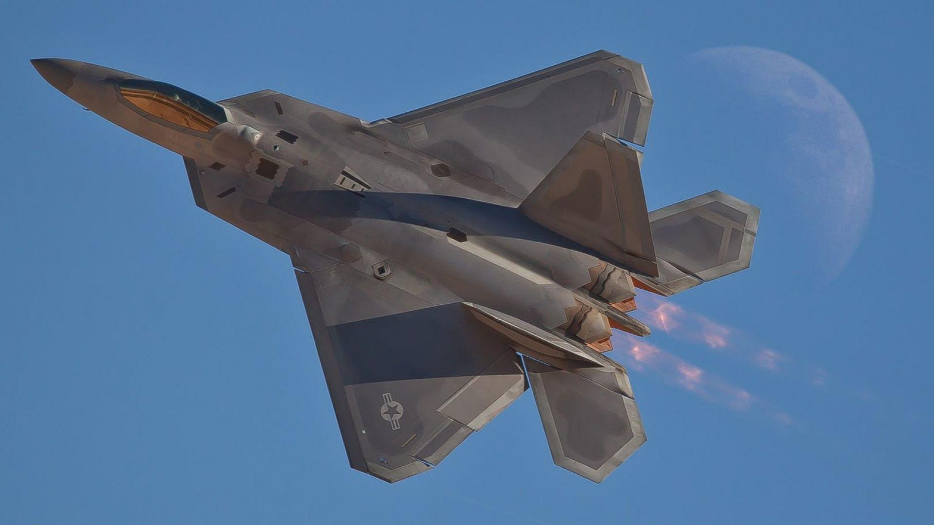 Стелт изтребител F-22 Raptor