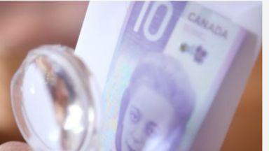 Канада пуска вертикална банкнота