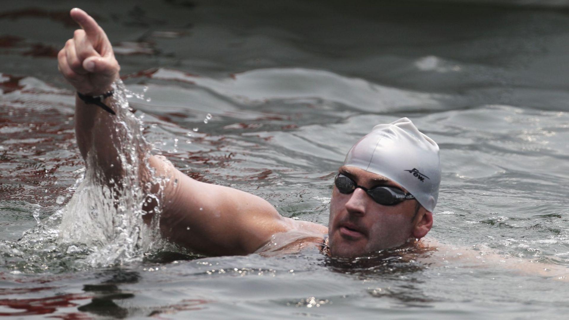 Забраняват на Петър Стойчев да плува край Антарктида