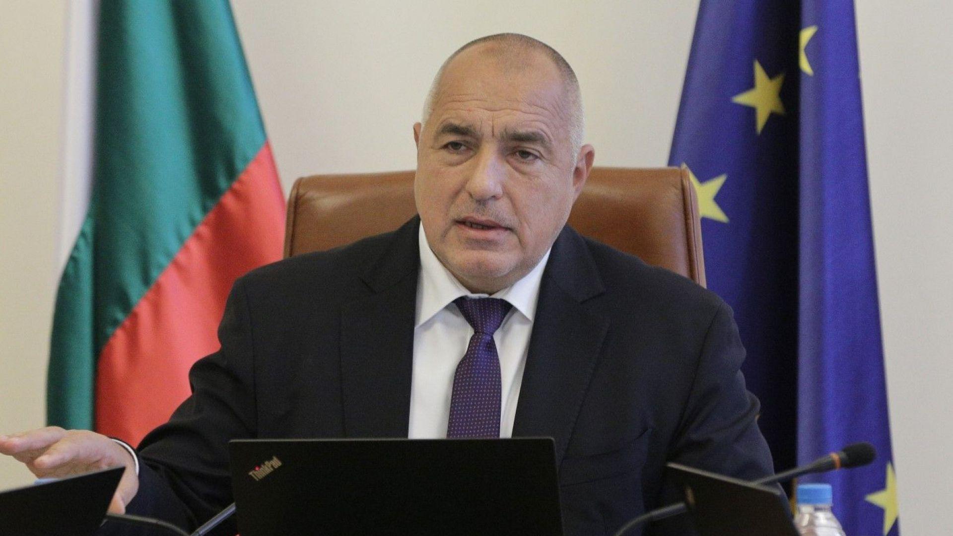 Премиерът Бойко Борисов е приел подадената оставка на вицепремиера по