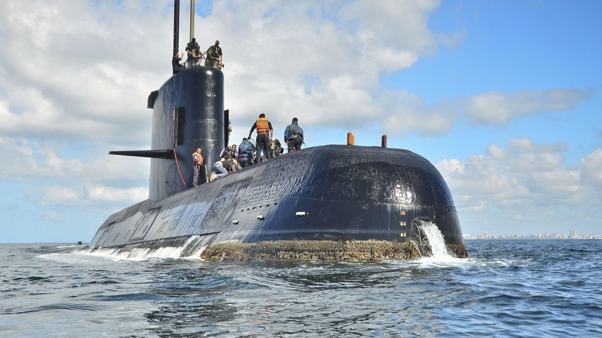 Останките на аржентинската подводница