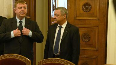Каракачанов: Чакаме Валери Сименов да предложи нов вицепремиер