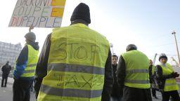 """Трагичен инцидент беляза протеста на """"жълтите жилетки"""""""