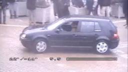 """""""Голф"""" дрифтира пред парламента на метри от хората (видео)"""