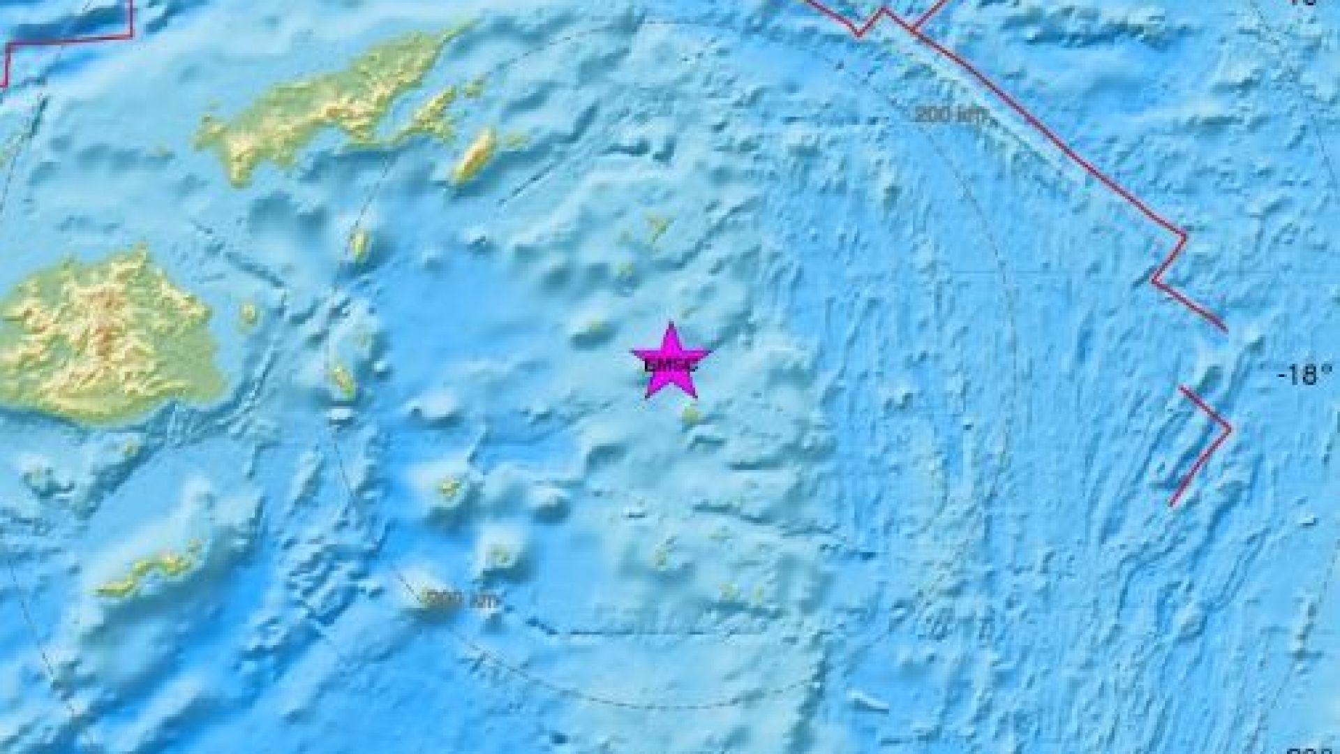 Два силни труса разтърсиха Соломоновите острови и района на Фиджи