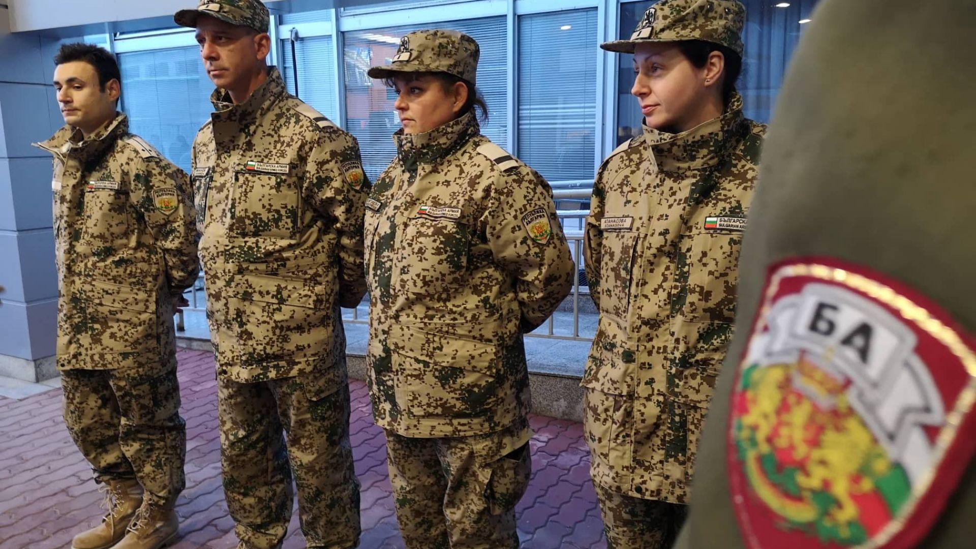 Четиричленен екип от български военни медици замина за Мали. За
