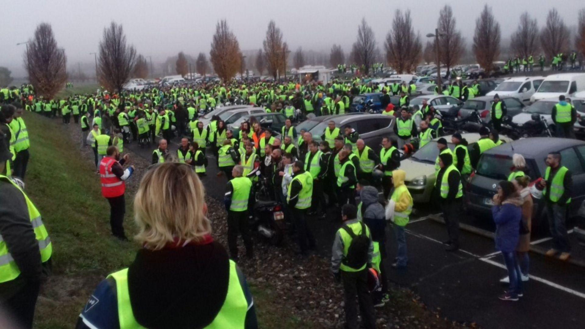 Белгийските жълти жилетки вече доволни от евтиния дизел