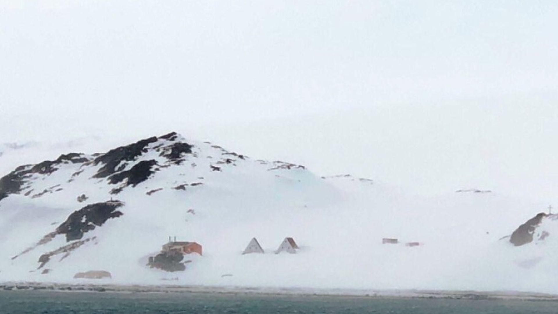 Първата група полярници пристигна на остров Ливингстън