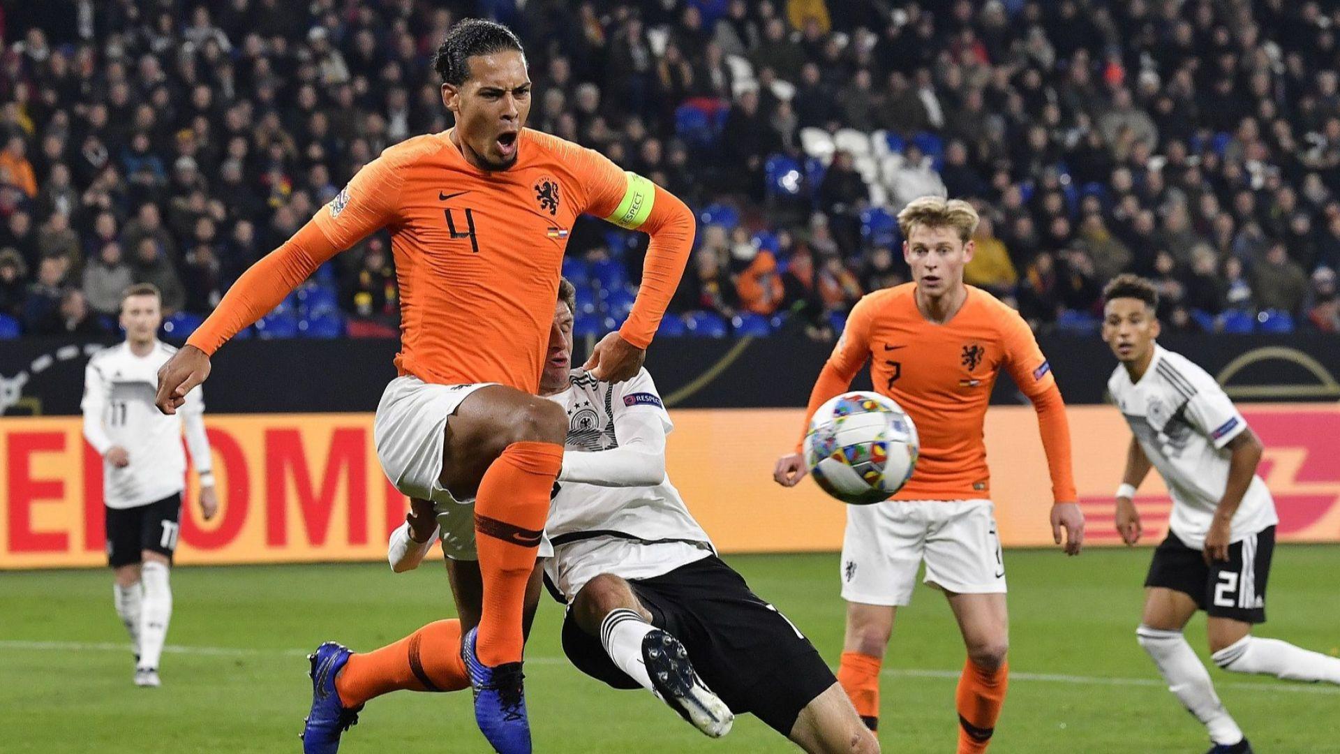 Късен холандски щурм шокира Германия и Франция