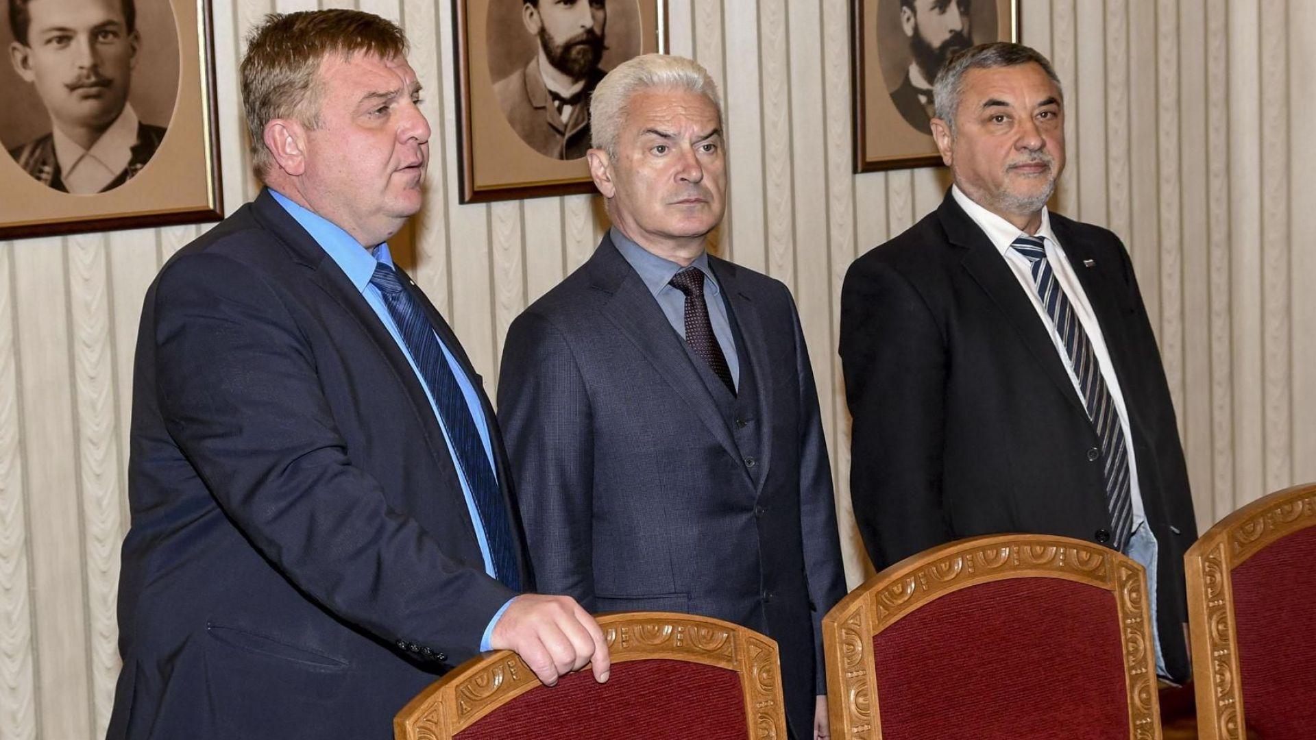 НФСБ на Валери Симеонов предложи кандидатура за поста вицепремиер на