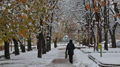 Опасна поледица и сняг в 8 области в страната
