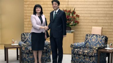 Караянчева към Шиндзо Абе: Япония е важен инвеститор за България