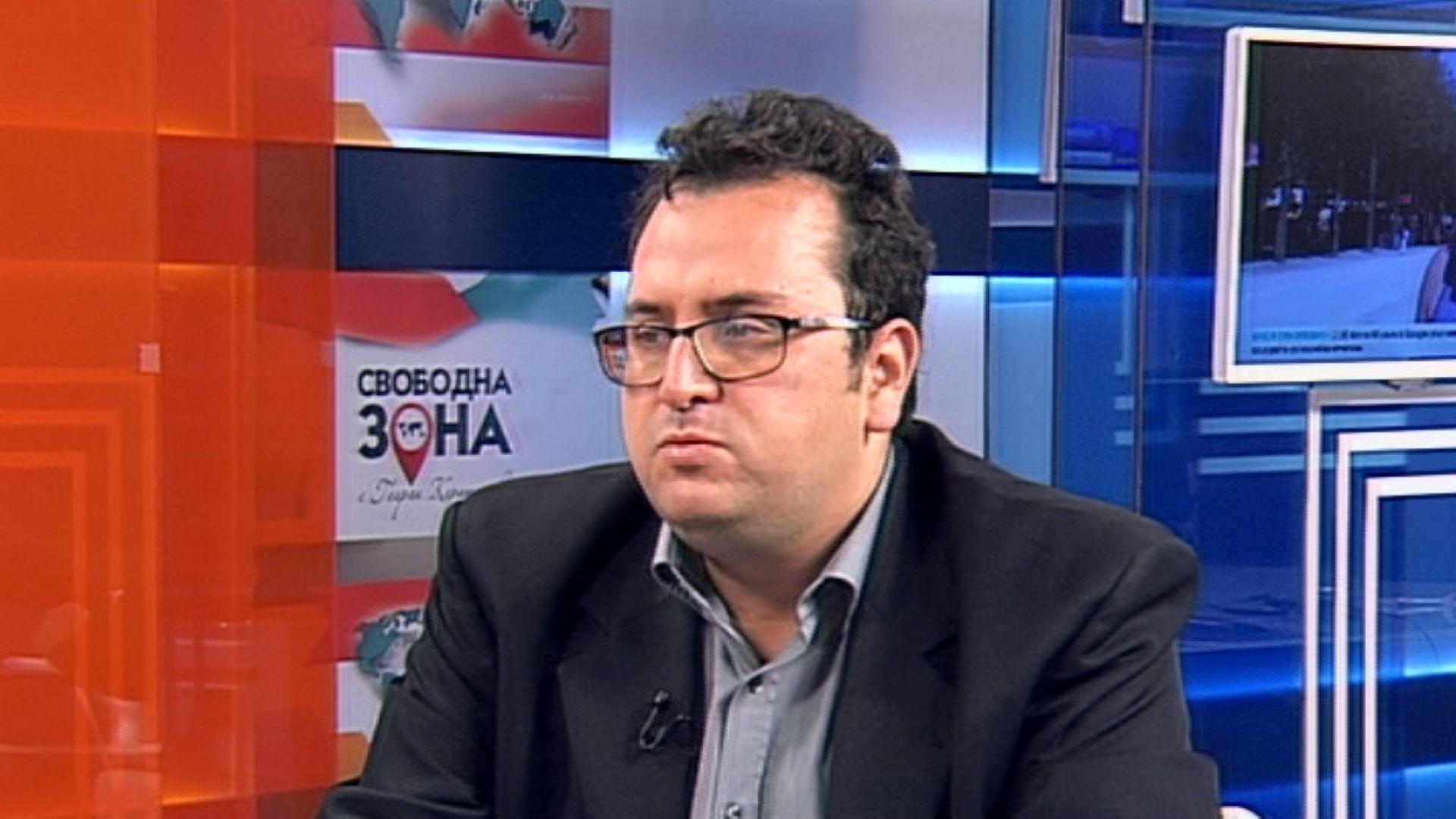 Юристът Християн Митев от квотата на НФСБ е гласен за
