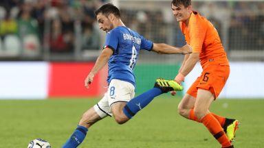 Италиански национал аут до края на сезона