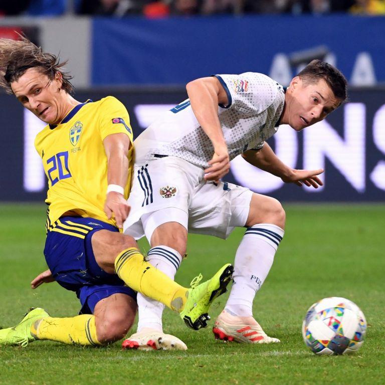 Силна Швеция открадна първото място от Сборная (резултати)